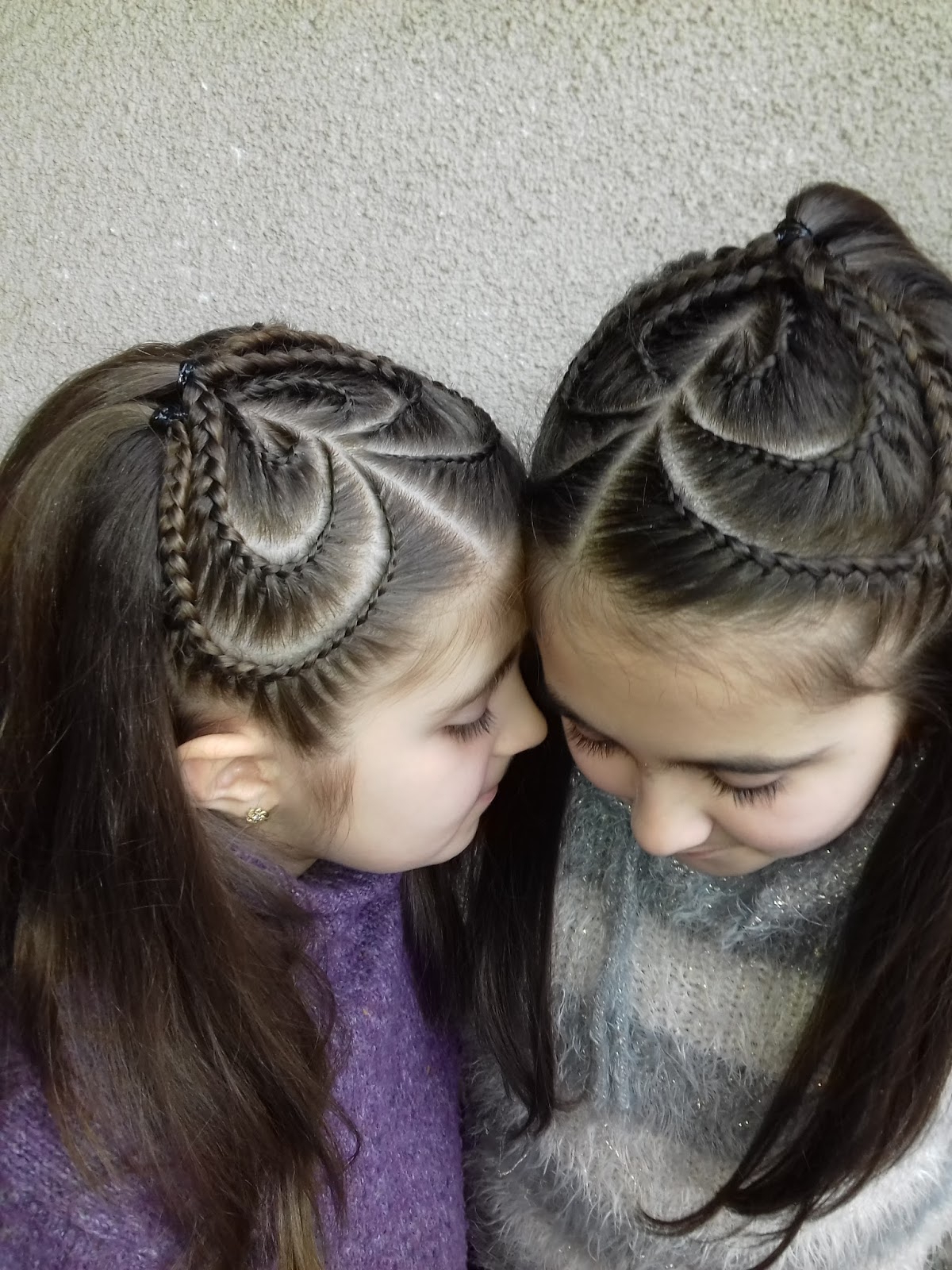 Fashionable Hair Braids: Heart Braided Hairstyles Pertaining To Most Recently Released Heart Braids Hairstyles (View 7 of 20)