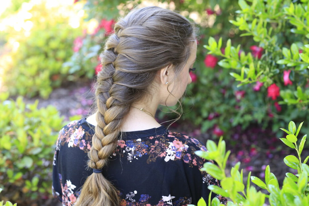 Faux French Braid – Cute Girls Hairstyles For Preferred Defined French Braid Hairstyles (View 9 of 20)