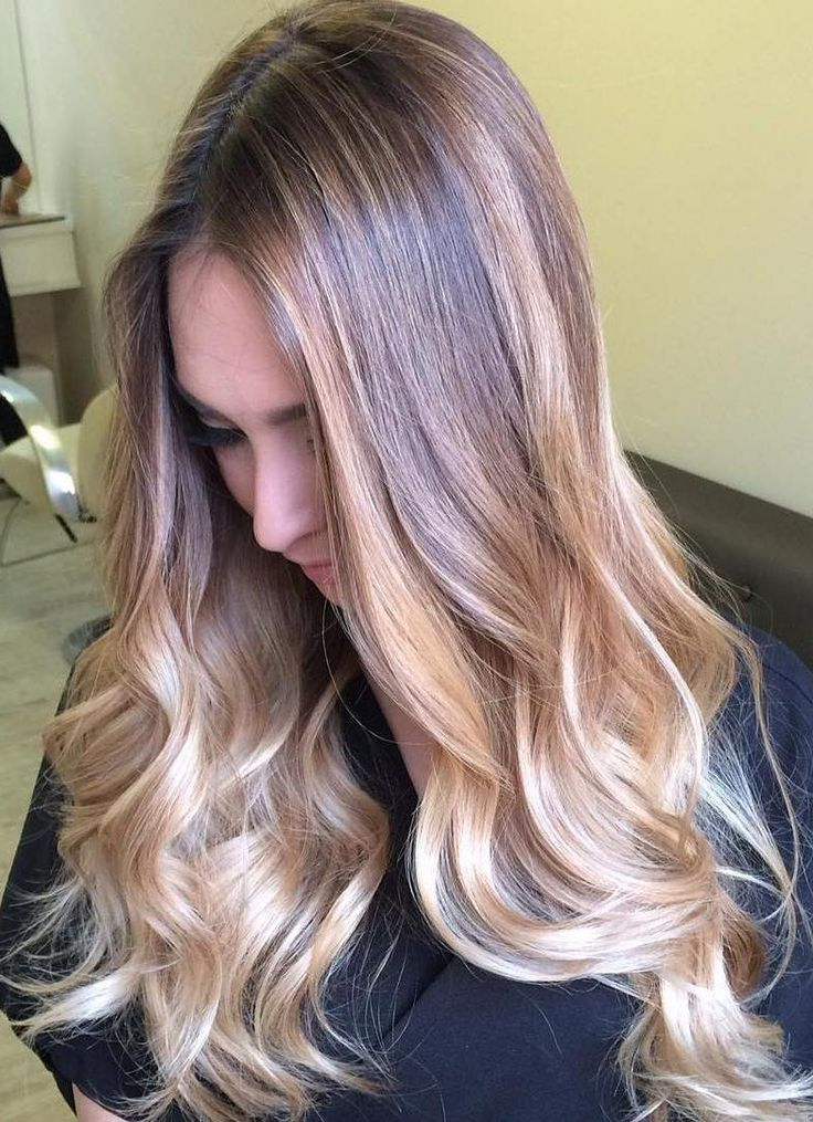 Featured Photo of Blonde Balayage Ombre Hairstyles