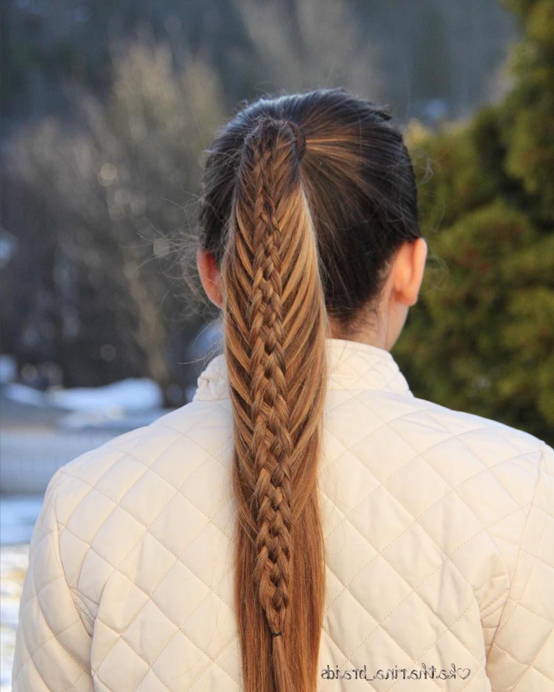 """Favorite Mermaid Side Braid Hairstyles With Braids And Hairstyles On Instagram: """"mermaid Braid (View 10 of 20)"""