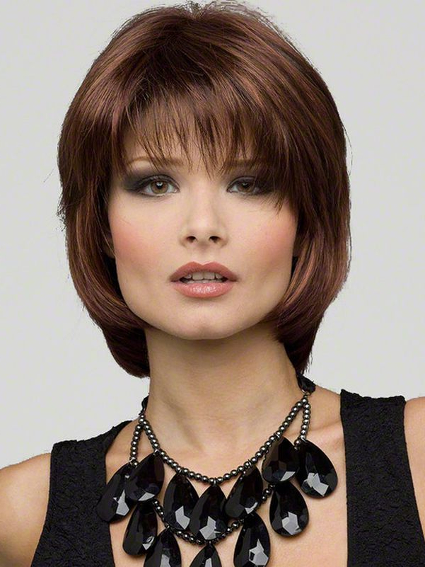 Favorite Middle Length Hairstyles With Highlights And Bangs Throughout 16 Astounding Medium Haircuts For Women – Pics & Tips (View 3 of 20)