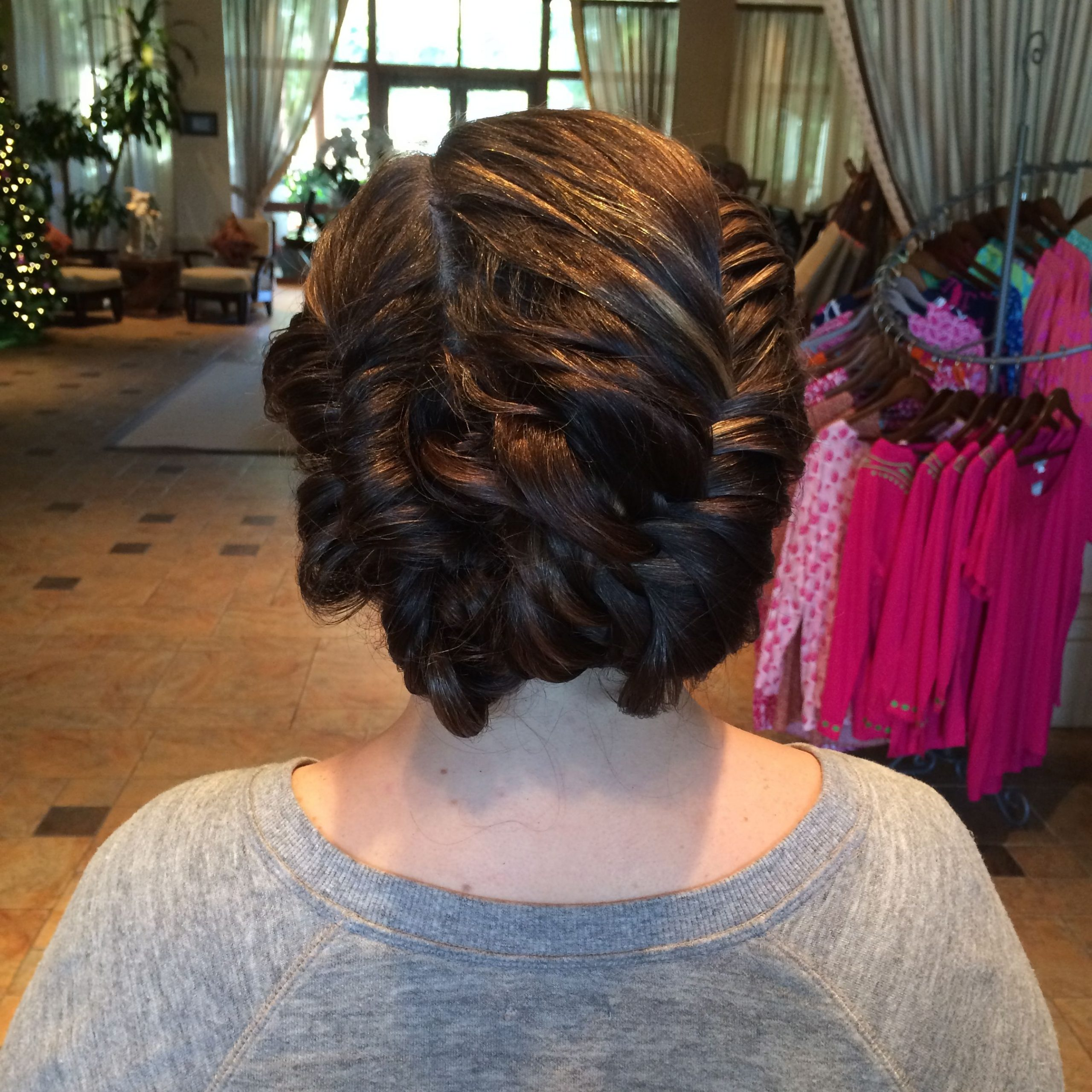 Fishtail Braided Updo (View 2 of 20)