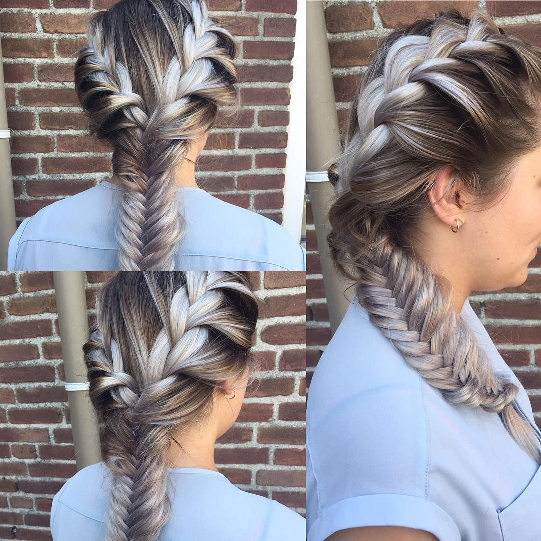 French Braid Hairstyles, Messy Hairstyles Inside Widely Used Knotted Braided Updo Hairstyles (View 2 of 20)