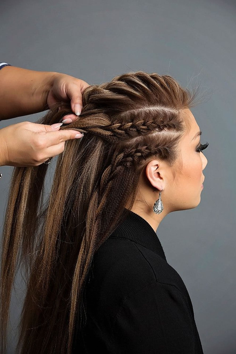 French Braids (2021 Update) :(mermaid, Half Up, Side Intended For Preferred Pancaked Side Braid Hairstyles (View 9 of 20)