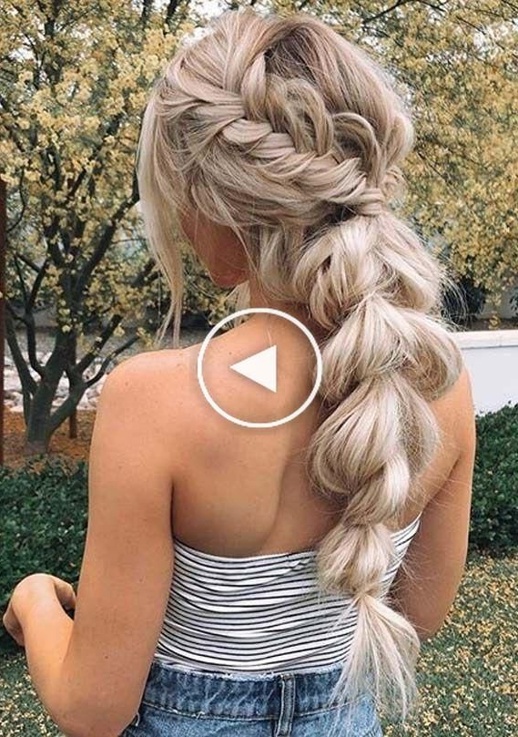 Fresh And Gorgeous Ideas Of Boho Braids Or Wedding In Preferred Boho Rose Braids Hairstyles (View 12 of 20)
