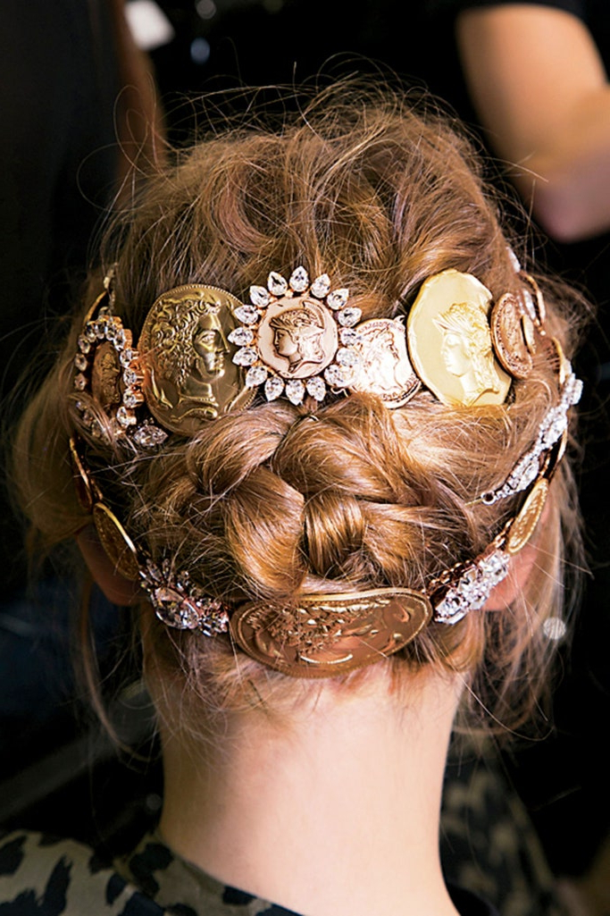 Glamour Throughout Current Intricate Braided Updo Hairstyles (View 13 of 20)