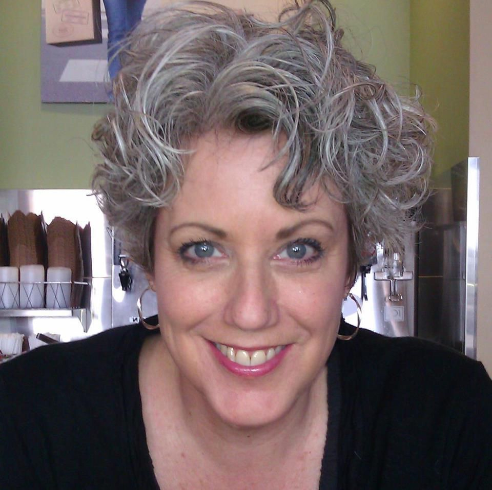 Grey Curly Hair, Short Curly Haircuts, Grey Hair Regarding Newest Short Loose Curls Hairstyles With Subtle Ashy Highlights (View 18 of 20)