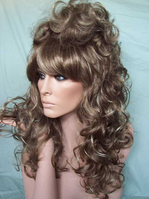 Hair Beauty, Cool In Best And Newest Long Dark Brown Curls Hairstyles With Strawberry Blonde Accents (View 11 of 20)