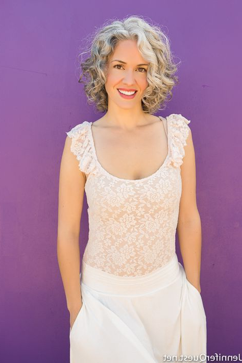 Hair Gray Curly Colour 42 Trendy Ideas (View 9 of 20)