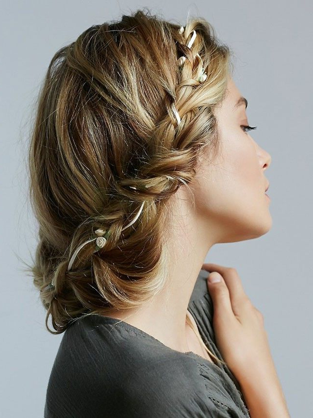 Hair Intended For Well Known Braid Tied Updo Hairstyles (View 2 of 20)