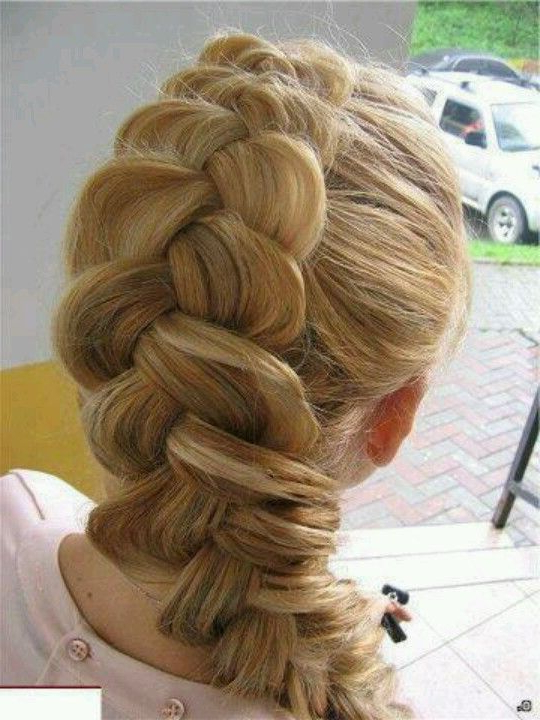 Hair, Messy Hairstyles Inside Current Messy Twisted Braid Hairstyles (View 6 of 20)