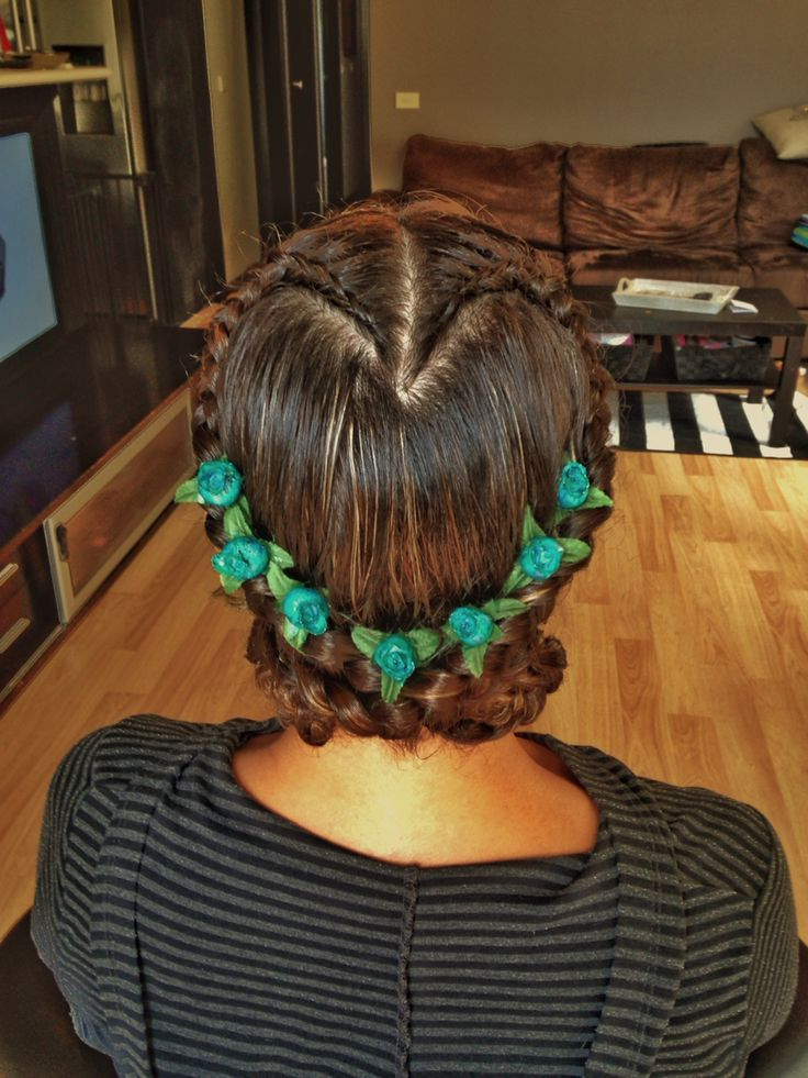 Hair Styles, Braids, Beauty With Regard To Well Known Heart Braids Hairstyles (View 8 of 20)