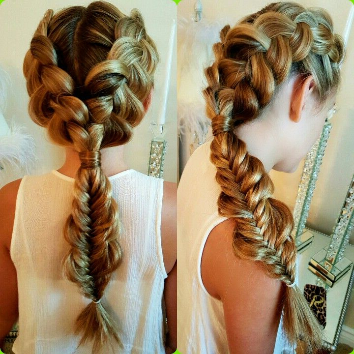 Hair Styles, Double Inside Well Liked Double Dutch Braids Hairstyles (View 4 of 20)