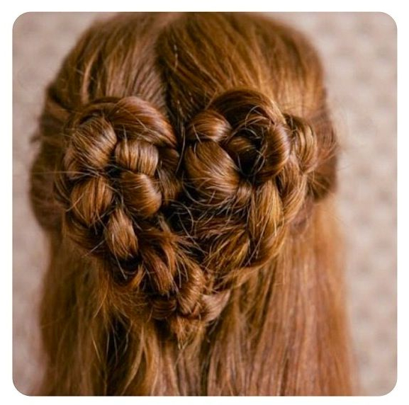 Featured Photo of Heart Braids Hairstyles
