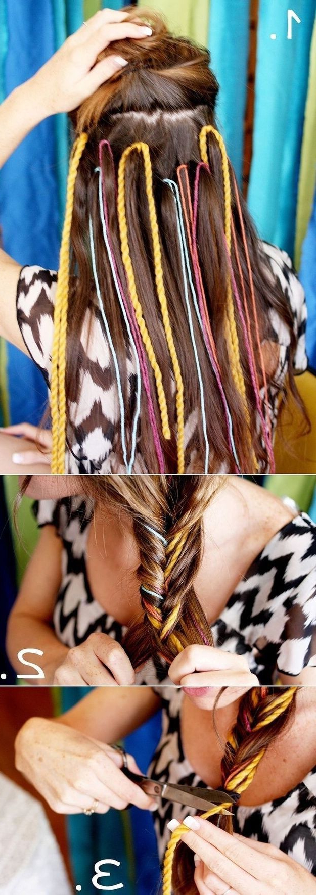 Hair Styles, Hippie Inside Famous Boho Fishtail Braid Hairstyles (View 12 of 20)