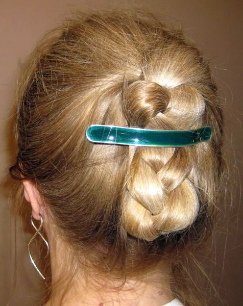 Hair Styles, Long Within Most Current Folded Braided Updo Hairstyles (View 3 of 20)