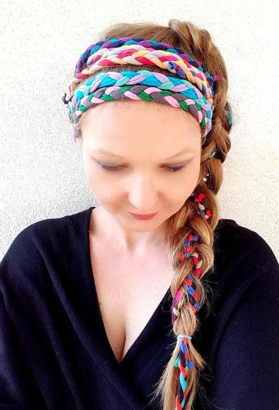 Featured Photo of Hippie Braid Headband Hairstyles