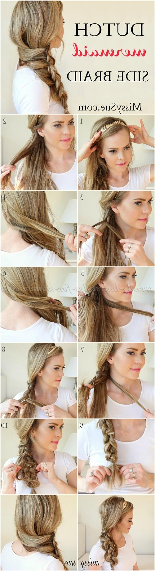Hair With Most Recently Released Mermaid Side Braid Hairstyles (View 15 of 20)