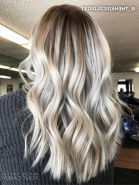 Hairstyles And Within Famous Ash Blonde Short Curls Hairstyles (View 15 of 20)