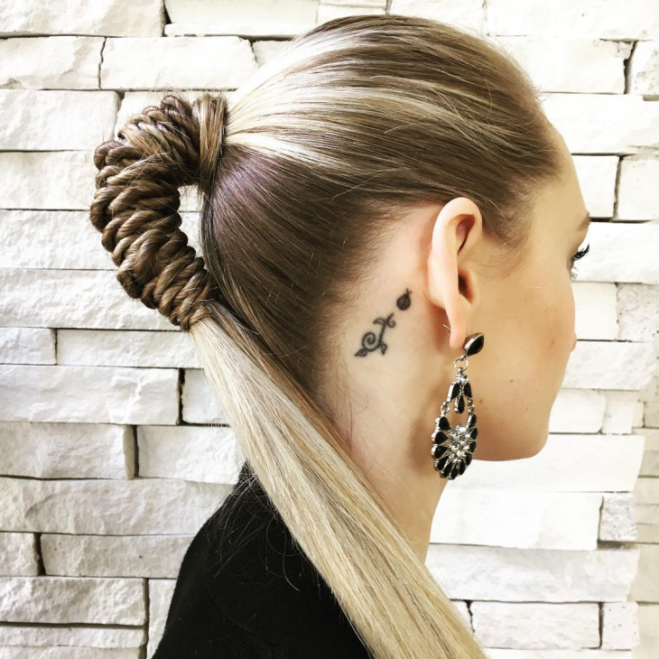 Hairstyles In Most Recent Rope Half Braid Hairstyles (View 9 of 20)