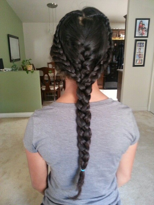 Heart Braid, Hair Styles, Braids Pertaining To Well Liked Heart Braids Hairstyles (View 18 of 20)
