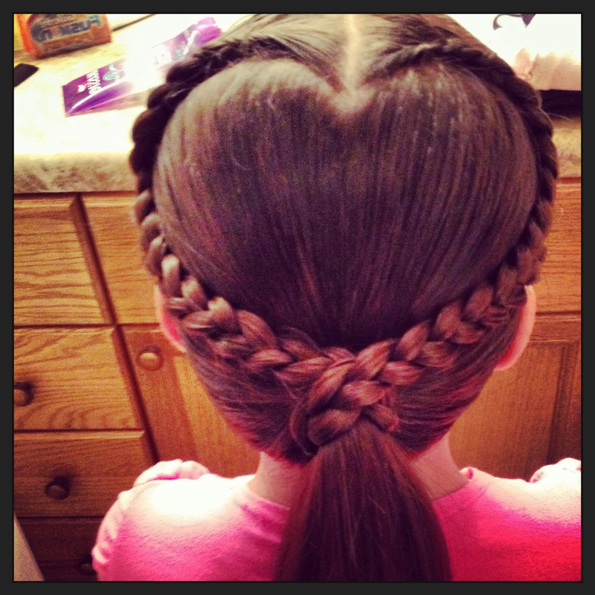 Heart Shaped Braid (View 6 of 20)