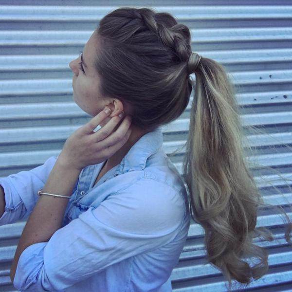 How To Create A Dutch Braid Hairstyles ? (with Picture Intended For Fashionable Five Dutch Braid Ponytail Hairstyles (View 14 of 20)