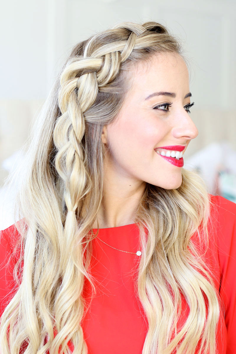 How To Dutch Braid Within Most Recently Released Dutch Heart Braid Hairstyles (View 4 of 20)