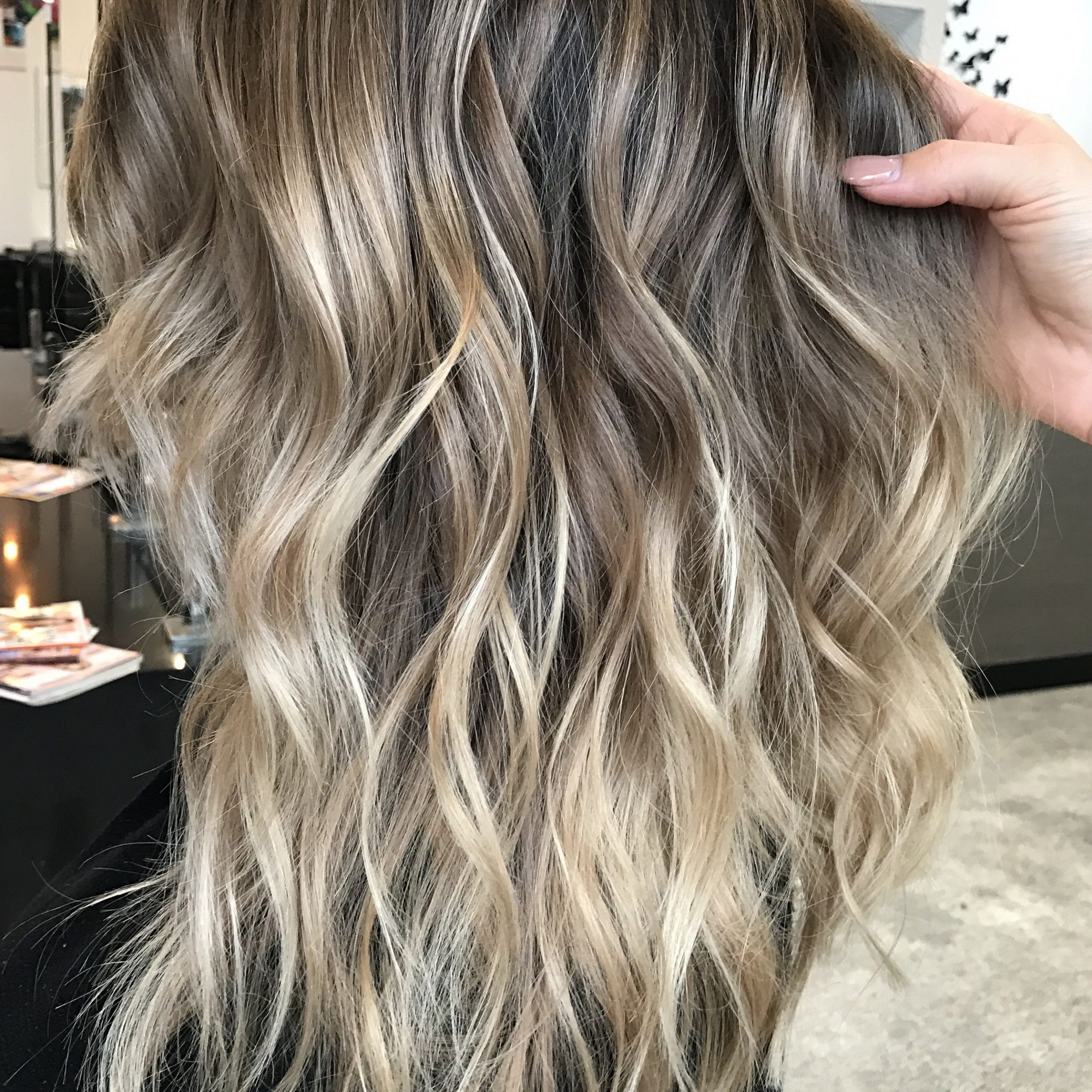 Instagram @hairbykaitlinjade Blonde Balayage, Long Hair With Regard To Most Up To Date Blonde Balayage On Long Voluminous Hairstyles (View 16 of 20)