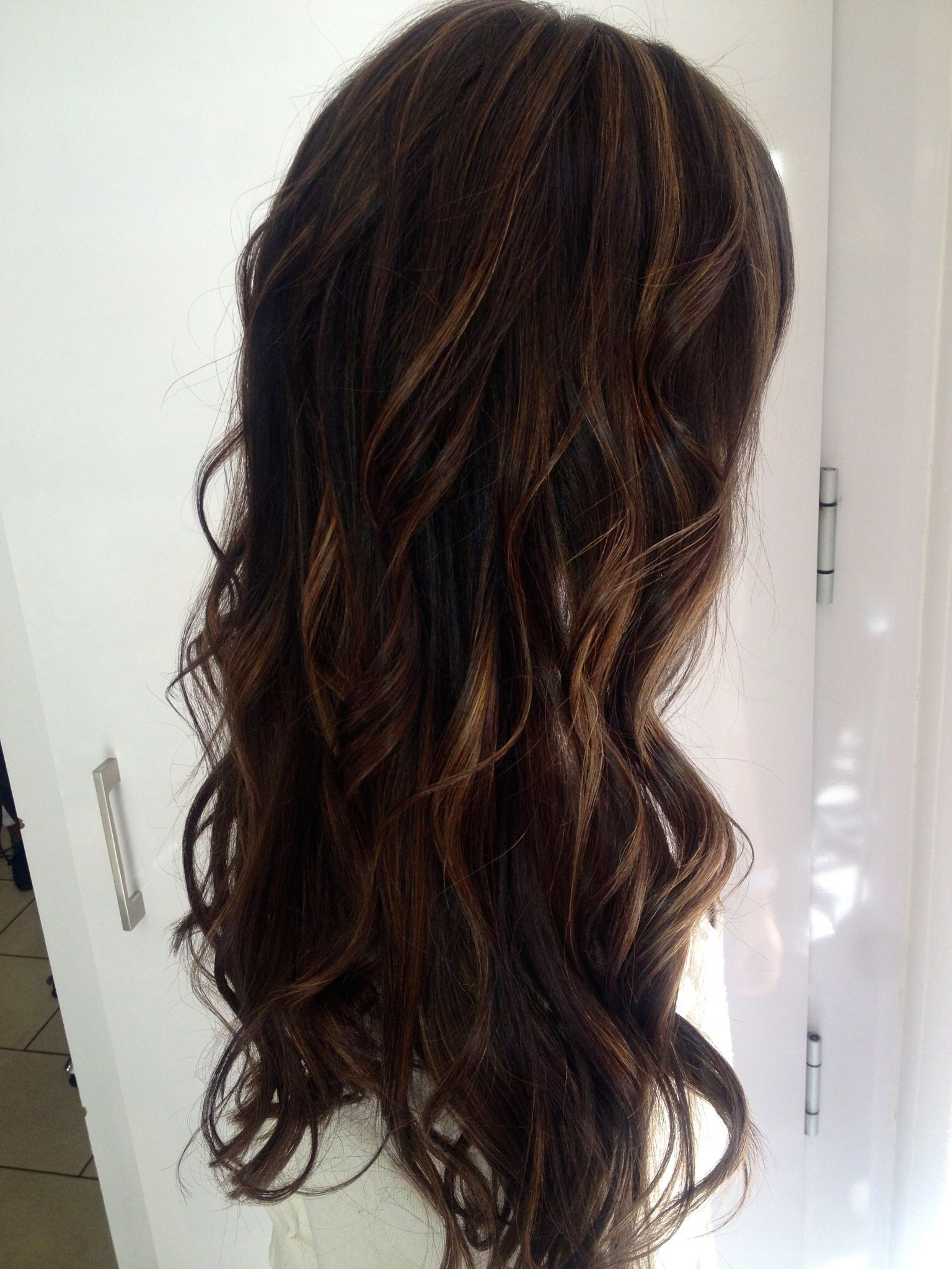Latest Honey Kissed Highlights Curls Hairstyles For Brown Hair With Soft Waves ️ And Sun Kissed Highlights (View 3 of 20)