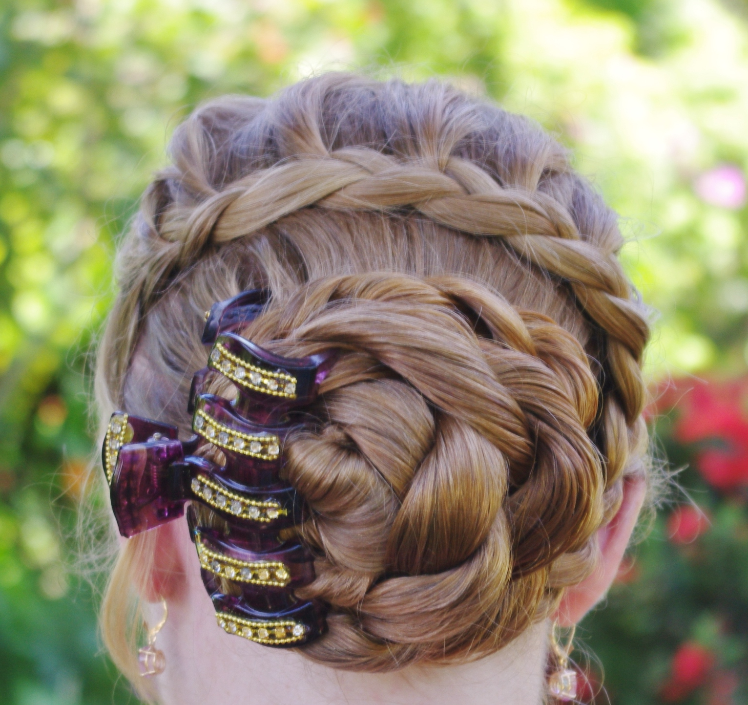 Latest Rolled Roses Braids Hairstyles Within Braids & Hairstyles For Super Long Hair: My Look For Today (View 3 of 20)
