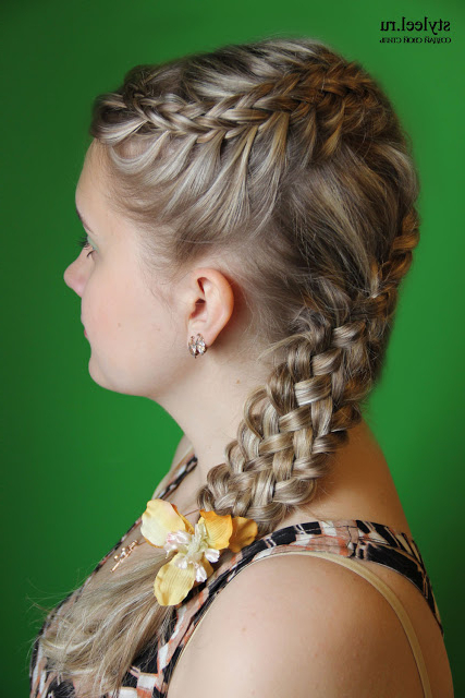 Local Style: Forty And One Braid Hairstyles For Preferred Intricate Braided Updo Hairstyles (View 12 of 20)