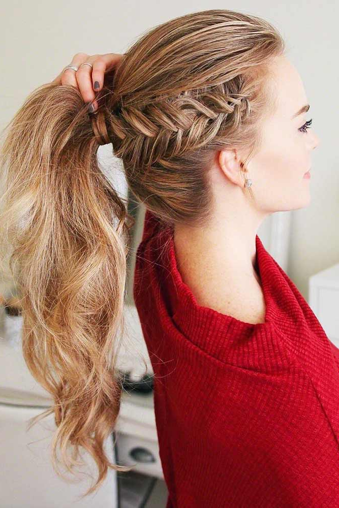 Lovehairstyles Pertaining To Latest Five Dutch Braid Ponytail Hairstyles (View 12 of 20)