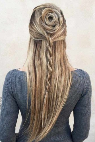 Lovehairstyles With Regard To Widely Used Rope Half Braid Hairstyles (View 16 of 20)