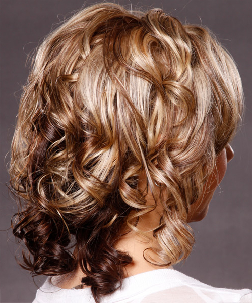 Featured Photo of Curly Pixie Hairstyles With Light Blonde Highlights