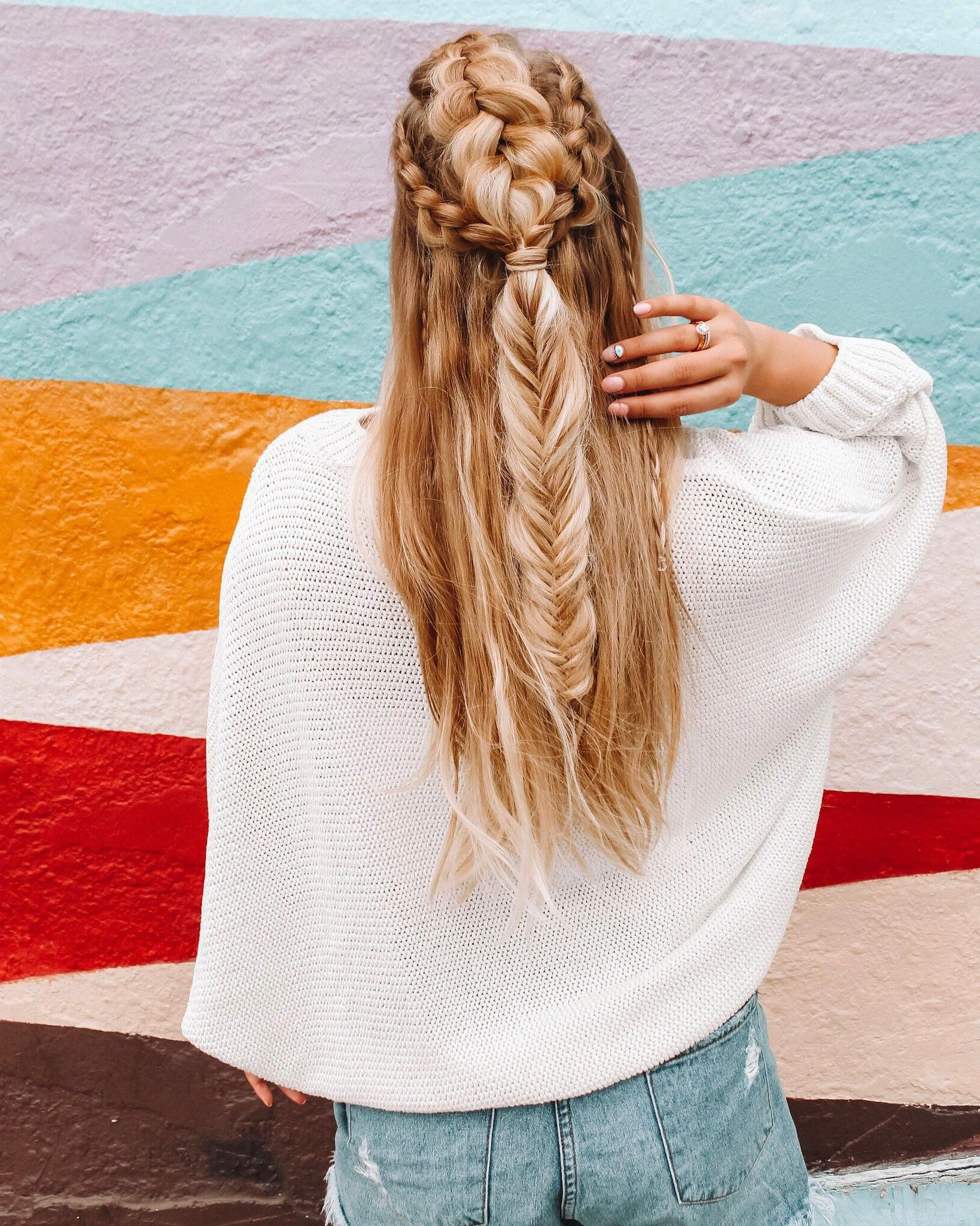 Mermaid Braid, Braids, Hair Styles With Regard To Newest Mermaid Side Braid Hairstyles (View 8 of 20)