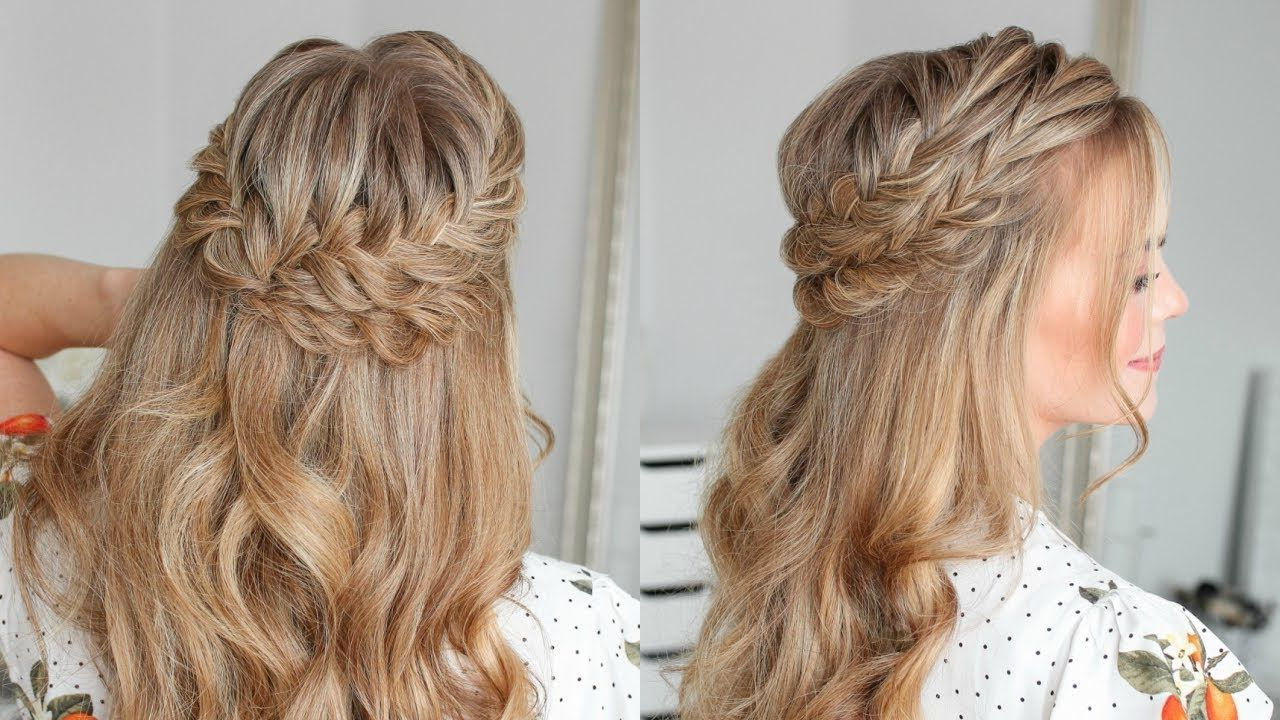 Missy Sue For Preferred Double Braided Single Fishtail Braid Hairstyles (View 11 of 20)