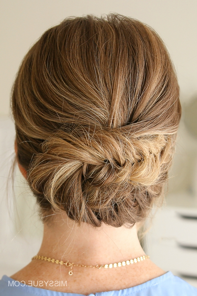 Missy Sue Pertaining To Latest Fishtail Updo Braid Hairstyles (View 4 of 20)