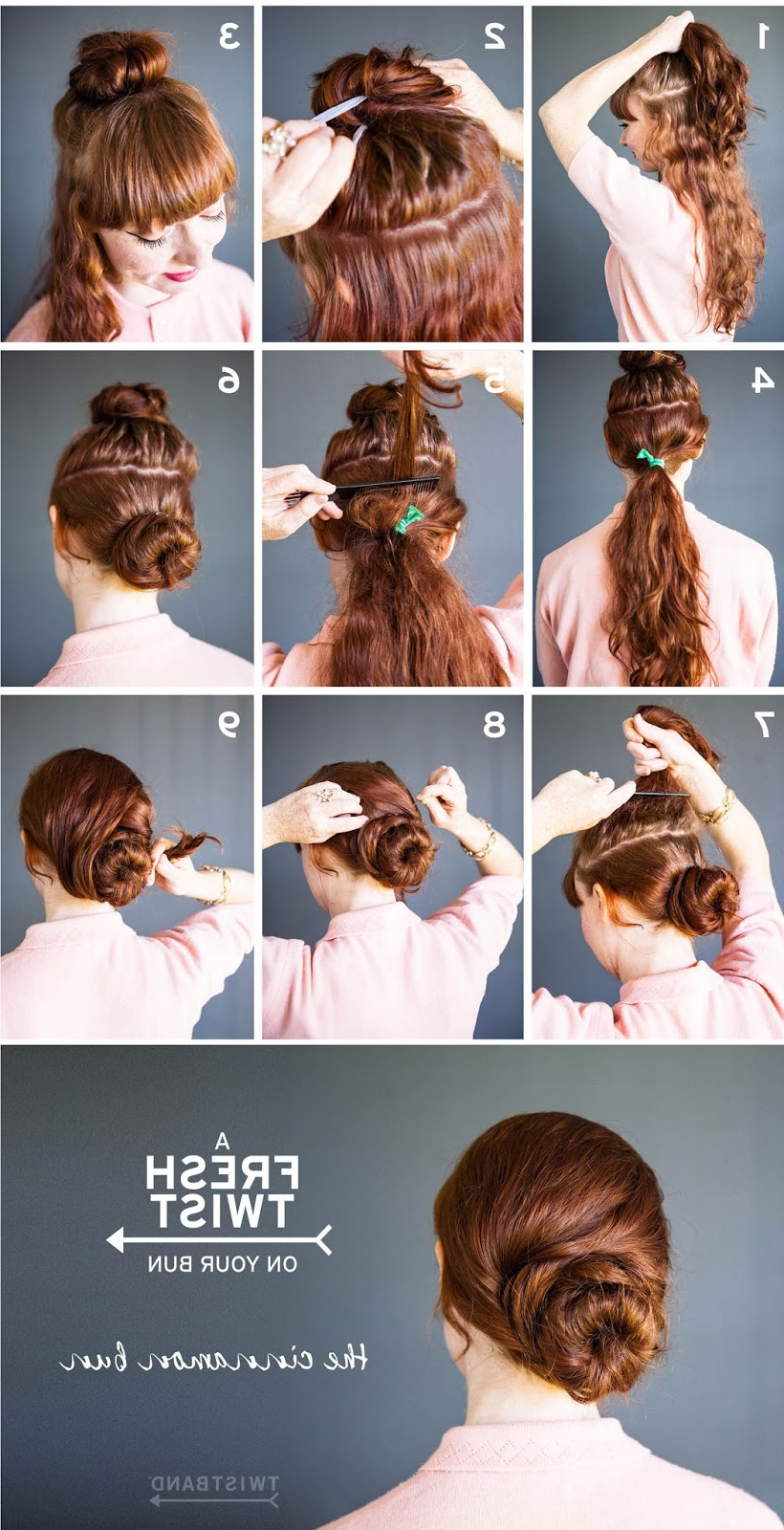 Most Current Cinnamon Bun Braided Hairstyles For How To Make A Cinnamon Bun Hairstyle – Must Try (View 3 of 20)