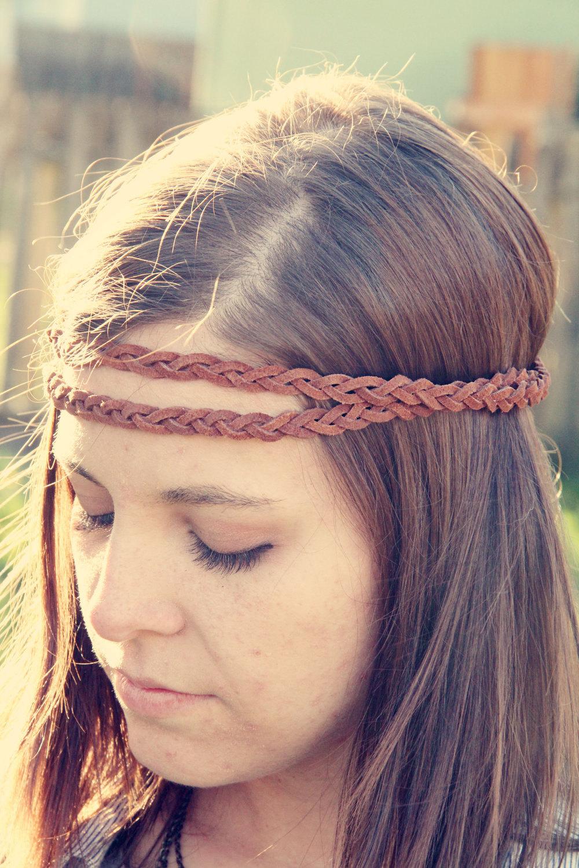 Most Current Hippie Braid Headband Hairstyles Regarding The Boho Band Double Strand Bohemian Braid Headband In (View 2 of 20)