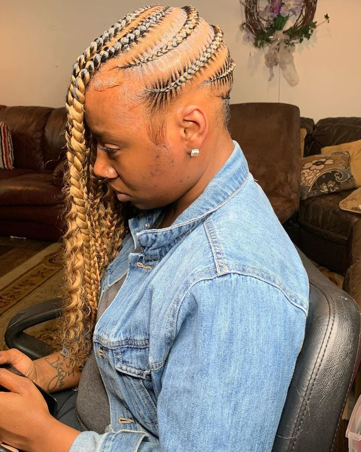 "Most Popular Boho Rose Braids Hairstyles Within Braidedrenn 🇨🇮 On Instagram: ""jumbo Lemonade Braids (View 2 of 20)"