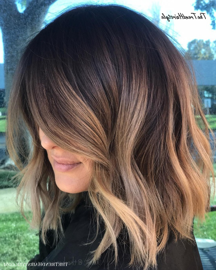 Most Popular Deep Chocolate Curls Hairstyles With High Contrast Highlights For Shimmering Light Brown Highlights – 60 Hairstyles (View 3 of 20)