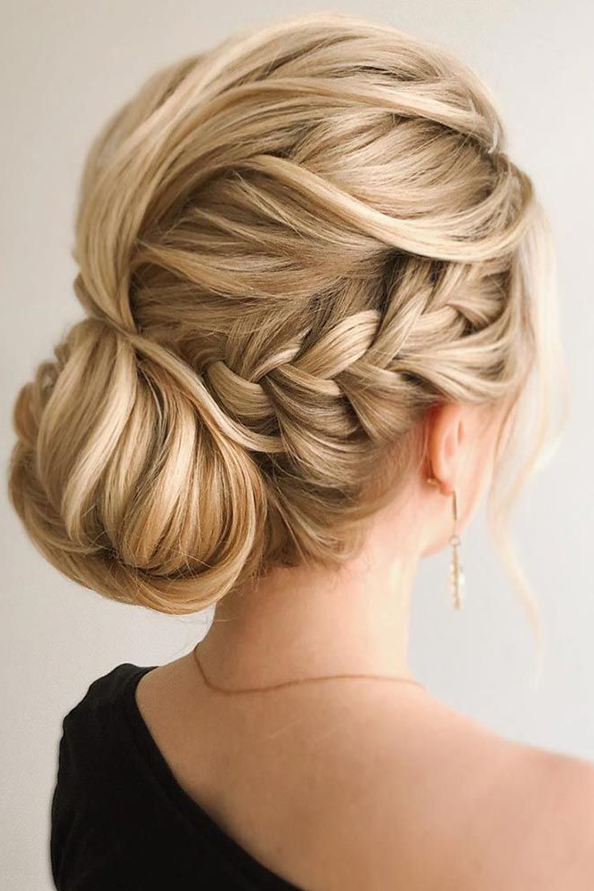 Most Popular Folded Braided Updo Hairstyles Throughout 50 Types Of French Braid To Experiment With (View 4 of 20)
