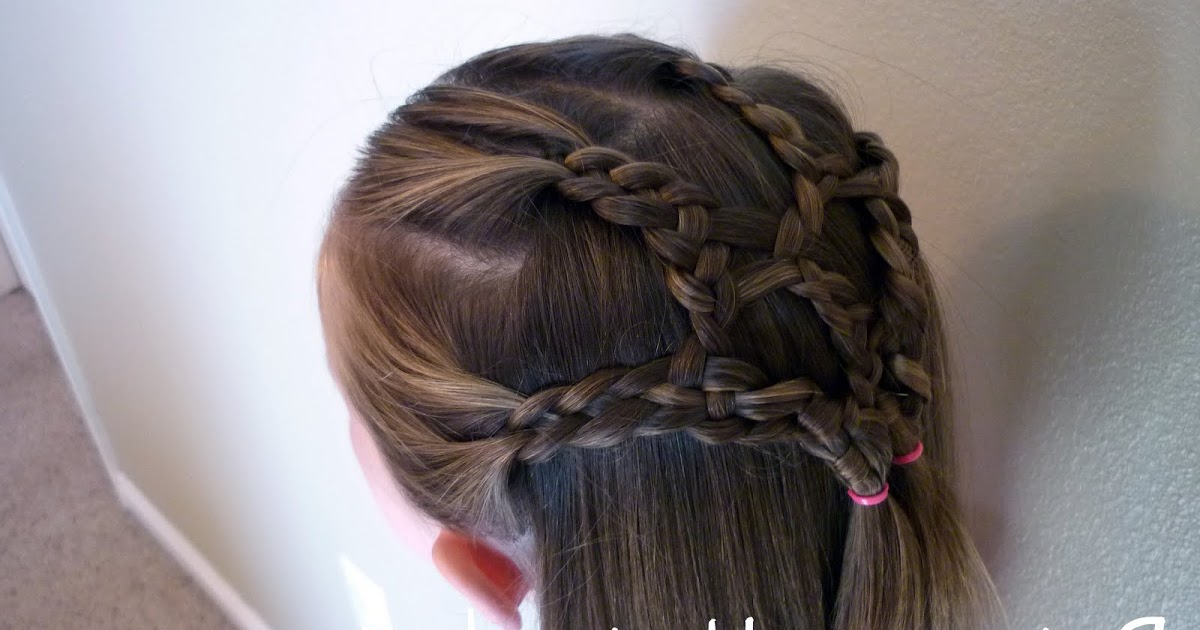 Most Popular Four Strand Braid Hairstyles For The Princess Hairstyles: 4 Strand Braided Net (View 9 of 20)