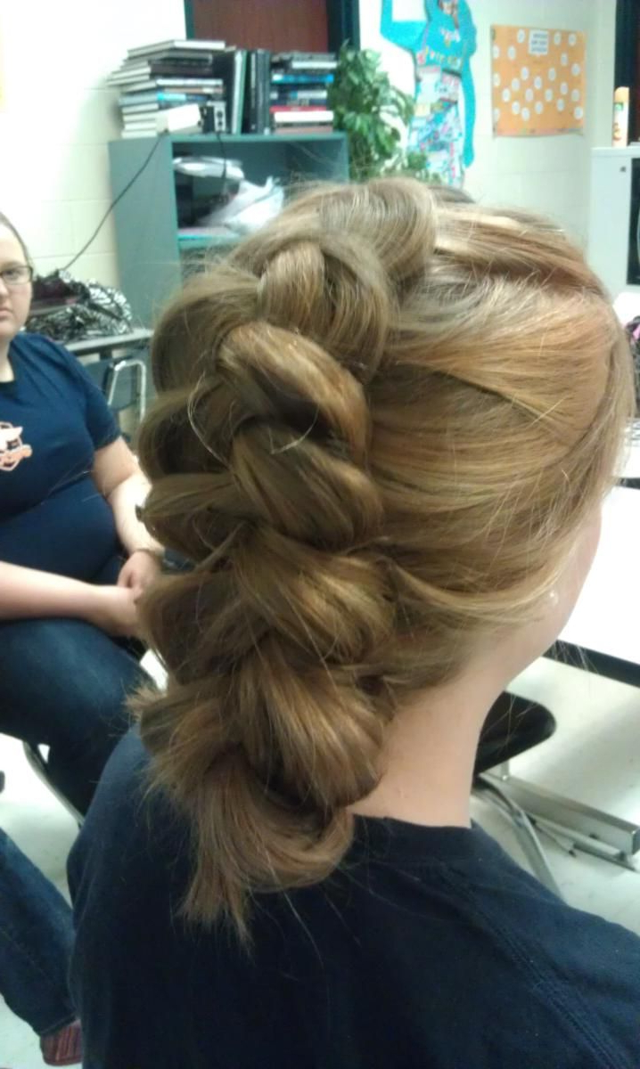 Most Popular Loose Double Braids Hairstyles Inside Loose Braid (View 8 of 20)
