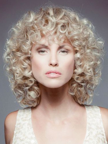 Most Recent Ash Blonde Short Curls Hairstyles Throughout 23 Short Curly Blonde Hair (View 14 of 20)