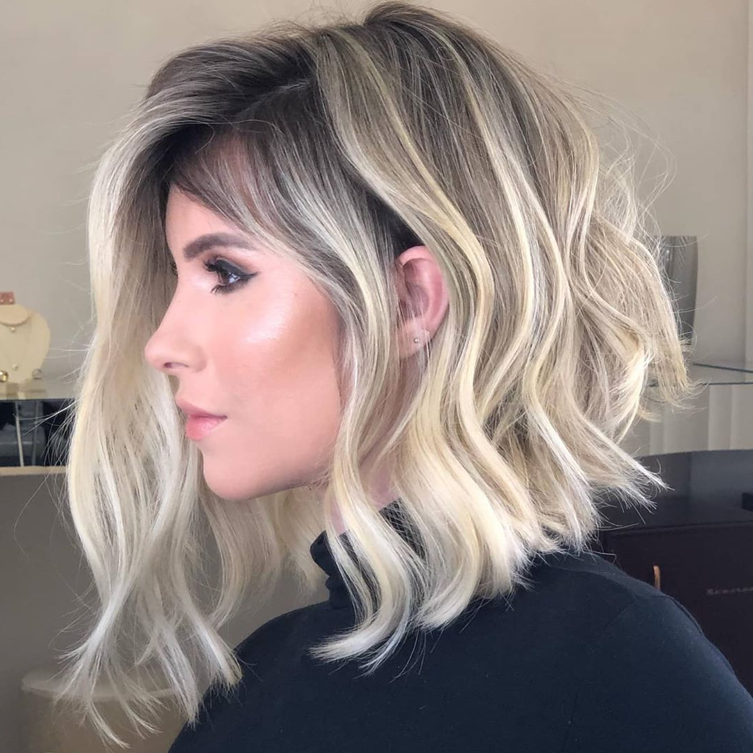 Most Recent Middle Length Hairstyles With Highlights And Bangs Throughout 10 Medium Length Hairstyles And Color Switch Ups – Medium (View 12 of 20)
