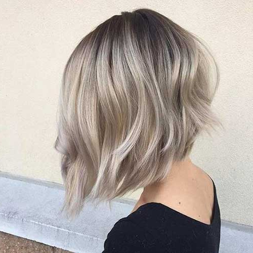 Most Recently Released Ash Blonde Short Curls Hairstyles Regarding Ash Blonde Bob Pics (View 6 of 20)