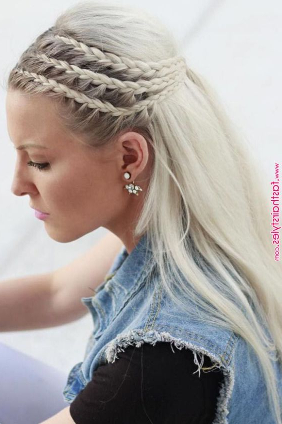 Most Recently Released Pancaked Side Braid Hairstyles Within 10 Modern Side Braid Hairstyles For Women – Braided Long (View 4 of 20)