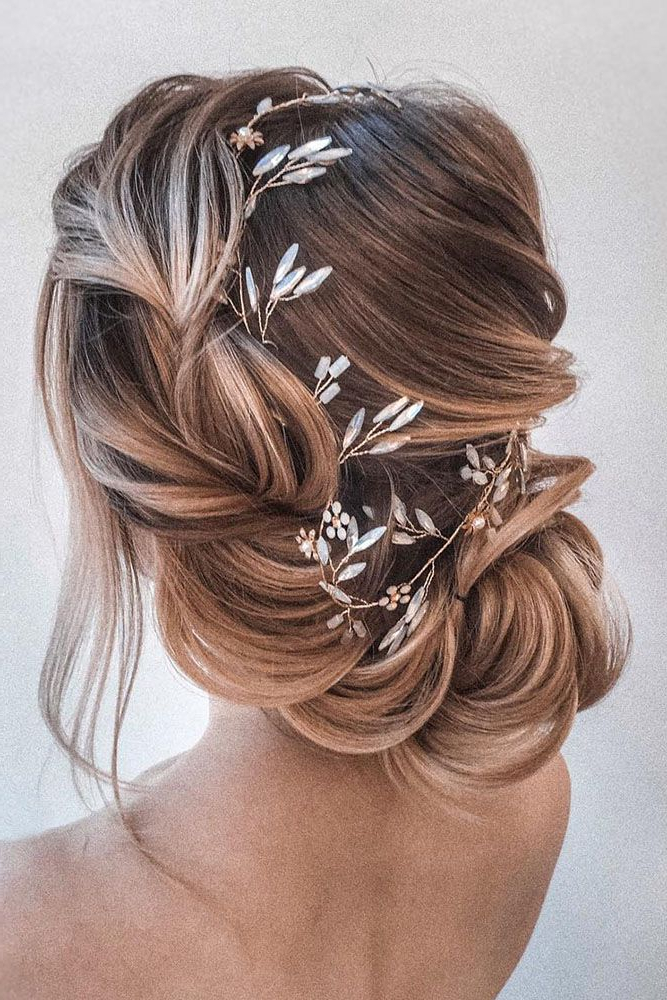 Most Up To Date Braid Tied Updo Hairstyles For 20 Easy And Perfect Updo Hairstyles For Weddings (View 18 of 20)
